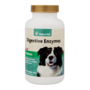 NATURVET® Digestive Enzymes Chewable Tablets Plus Probiotic