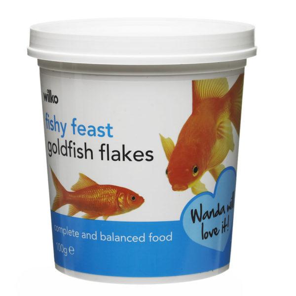 Wilko Goldfish Flakes 100g