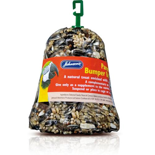 JOHNSON'S™ PARROT BUMPER BELLS BIRD FOOD