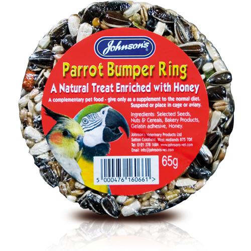 JOHNSON'S™ PARROT BUMPER RING BIRD FOOD