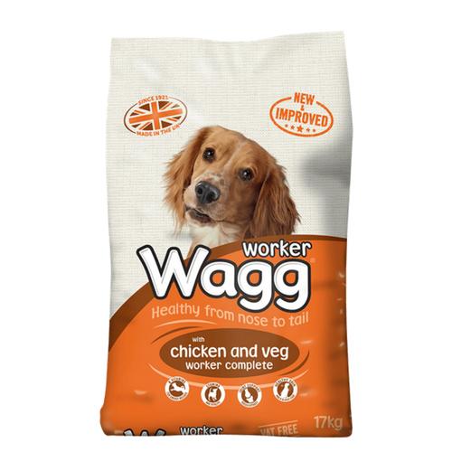 WAGG™ WORKER CHICKEN & VEG DRY DOG FOOD
