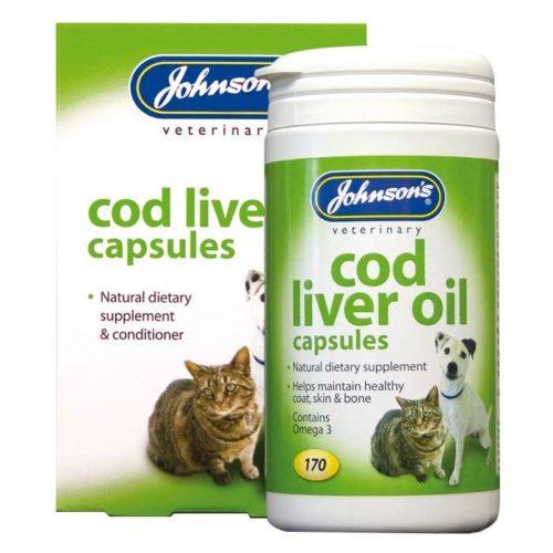 JOHNSON'S™ COD LIVER OIL CAPSULES