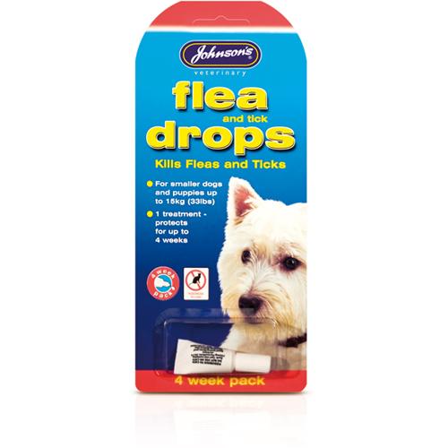 JOHNSON'S™ FLEA & TICK DROP SMALL DOG [PUPPY]