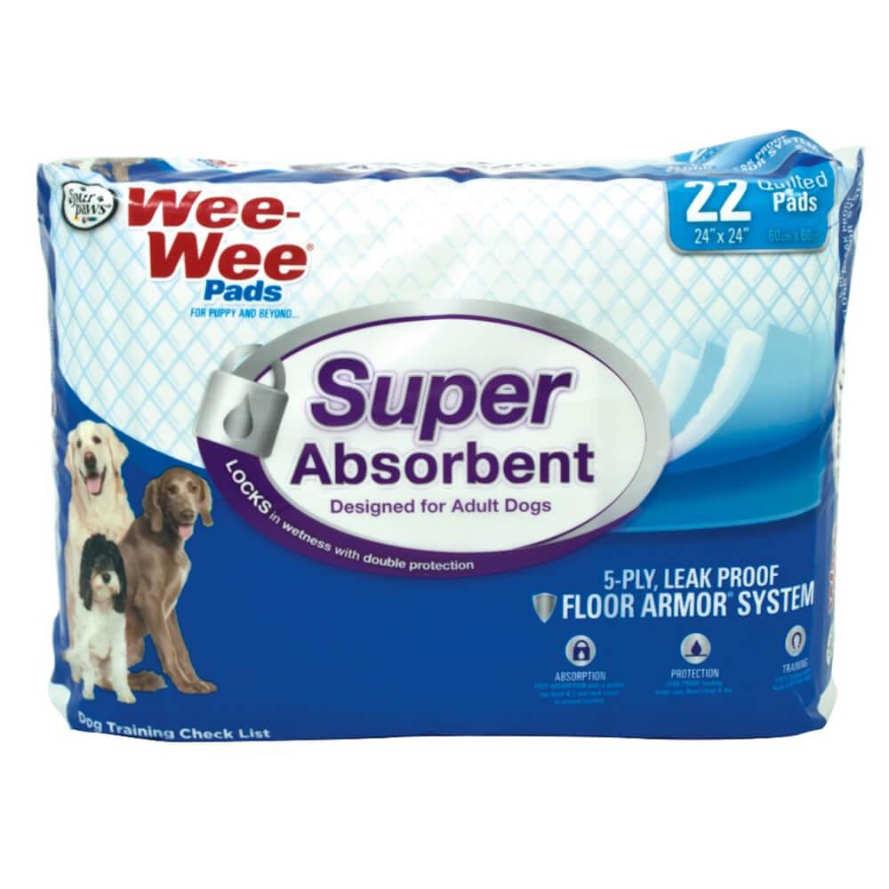 Wee Wee 174 Super Absorbent Pads Petsmartnigeriapetsmartnigeria