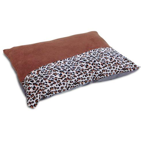 Aspen Pet® 36 X 45 Animal Print Knife Edge Pillow Bed, Brown