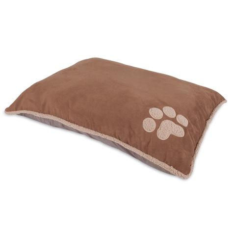 Aspen Pet Shearling Knife Edge Pillow Bed