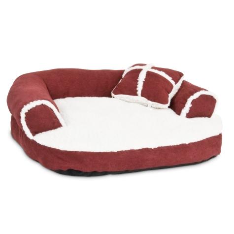 Aspen Pet Sofa Bed With Pillow