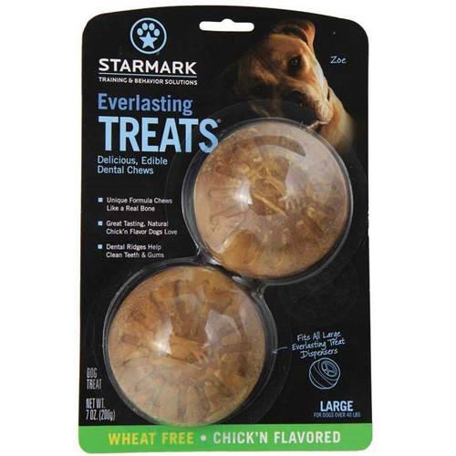 Starmark Everlasting Dental Chicken Dog Treats