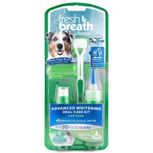 Tropiclean Fresh breath advanced whitening kit