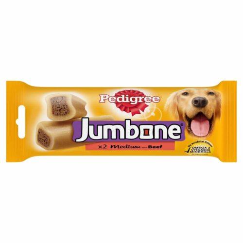 Pedigree Jumbone Medium Dog Treats with Beef
