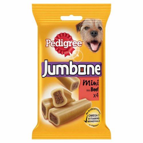 Pedigree Jumbone Mini Dog Treats with Beef