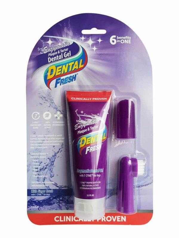dental fresh enzymatic gel finger