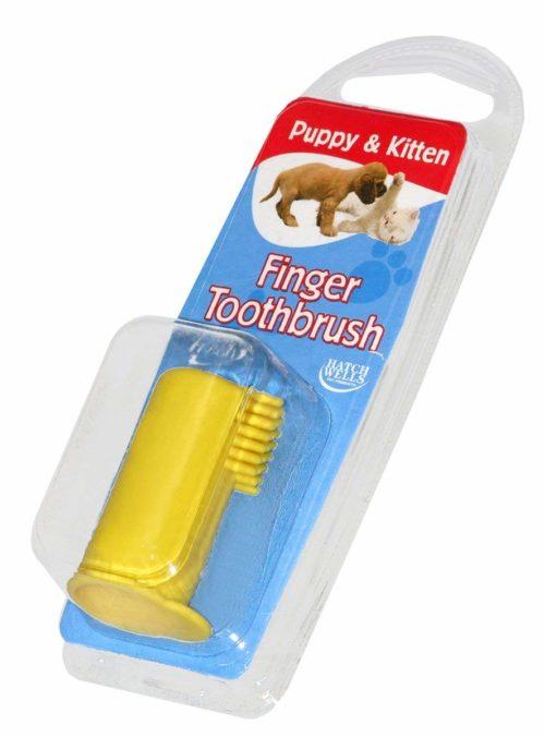 Hatchwells Puppy & Kitten Finger Toothbrush 100g