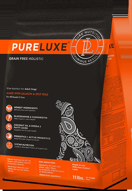 Pureluxe Adult Salmon & Split Peas Dog Food