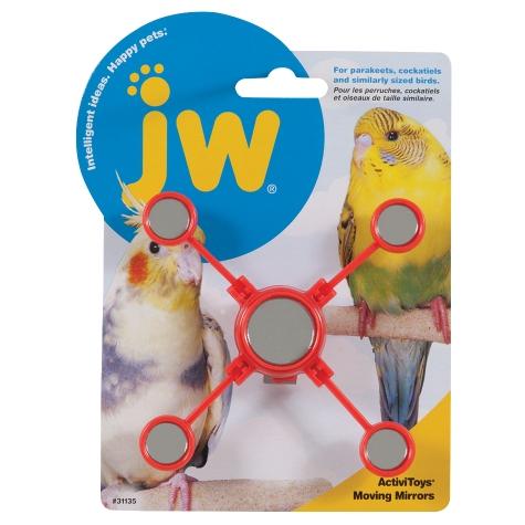 JW ACTIVITOY MOVING MIRRORS BIRD TOY